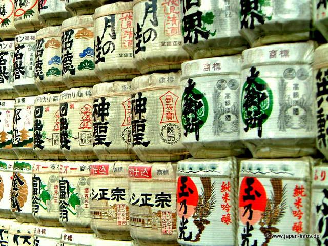 Trinken in Japan – Sake oder Reiswein