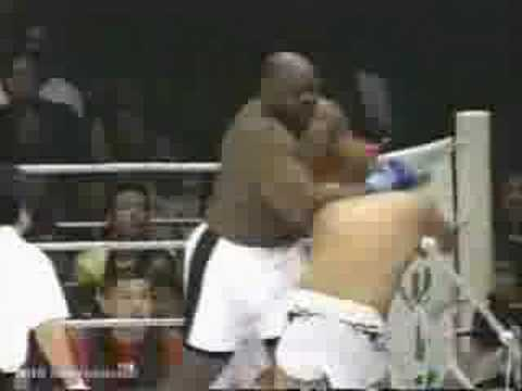 K1-Fighter Bob Sapp