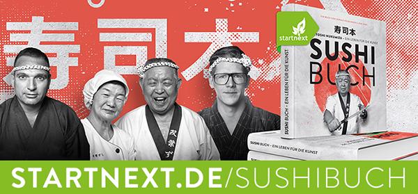 Sushibuch Crowdfunding